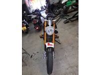 LEXMOTO XTRS-125 *STUNT CONVERSION* ALSO HAVE STANDARD FAIRINGS