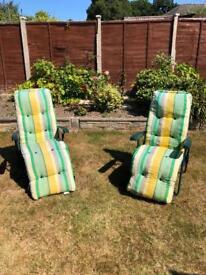 Comfy Reclining Garden Chairs
