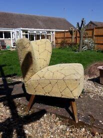 Retro living room chair