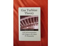 Gas Turbine Theory; Saravanamuttoo, Rogers, Cohen, Straznicky; 6th Edition; Pearson