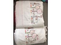 Bumper and duvet set £5