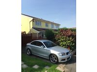 Bmw 1 series coupe MSport 09 Diesil Red Leather Interior( cat d)
