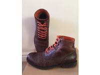 lEVIS boots mens, lite brown, size: EU42, UK 8