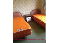 single beds - 3 available