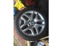 BMW X3 alloys