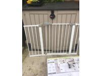 Lindam Sure Shut safety gate.