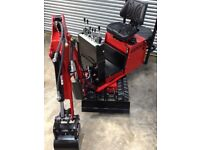 Micro Mini Digger 360 Excavator AX36 Brand New with Warranty from AXPAN 9.5hp Kohler Petrol Engine