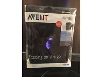 Baby food keep warm/cool bag. Avent Thinsulate