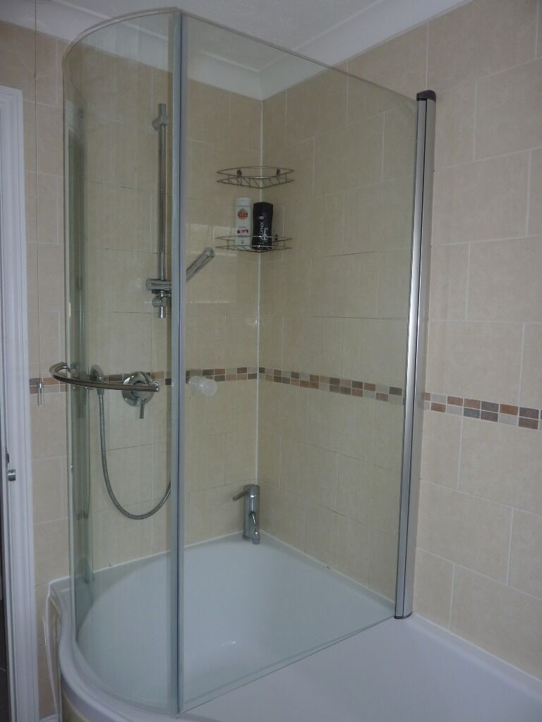 Curved shower screen with towel purchase sale and for Fully enclosed shower