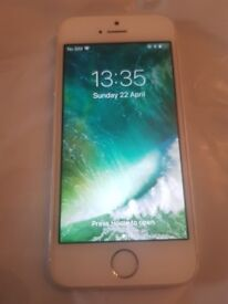 Apple iPhone 5s -16GB - Space Grey unlocked to all network mint condition