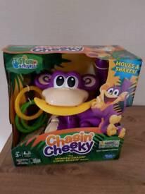 Chasin' cheeky monkey