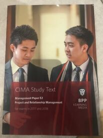 CIMA Textbook, Project and Relationship Management (E2)