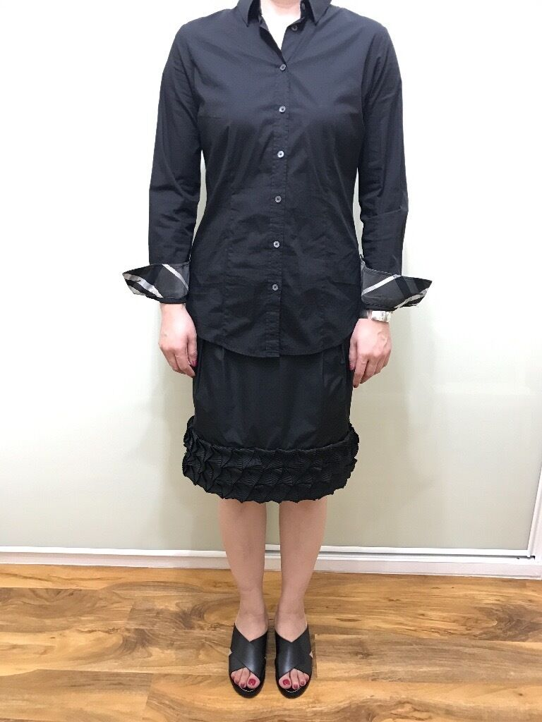 Burberry Brit ladies shirtmediumin Fulham, LondonGumtree - Burberry Brit black ladies shirt Medium size Rrp £295 Pet free smoke free home Cash on collection from fulham