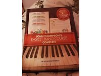 John Thompsons easiest piano complete course books and cds