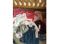 Girls 9-12 month clothes bundle