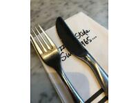 Pizza express knife and fork