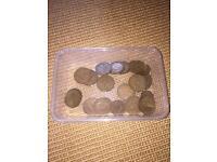 Pennies and half pennies