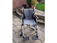 Roma Medical Orbit 1330 Deluxe Folding Lightweight Aluminium Wheelchair