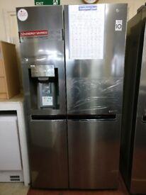 LG American fridge freezer stainless Steel New/Graded