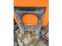 Old cast fireplace