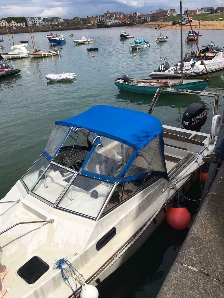 Boston whaler cabin boat fishing boat | in Tillicoultry, Clackmannanshire |  Gumtree