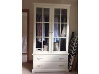 Ikea Birkeland white double wardrobe