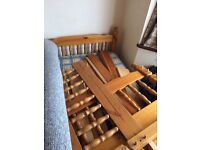 PINE BUNK BED FREE TO COLLECTOR