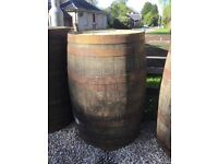 Whisky barrels for sale. £40 free local delivery, can deliver further afield for small cost