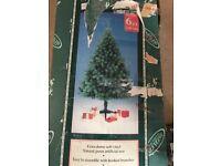 Christmas tree 6ft £10