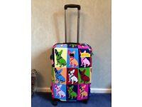 Saxoline Bulldogs Wheeled Luggage Suitcase,Brand New
