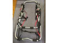 Bike rack, Halfords high mount 3 bike, good condition