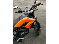 KSR Moto TW125cc Super moto style Learner Legal
