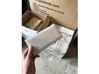 Two boxes of wall tiles