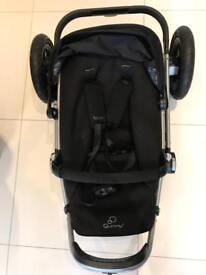 Quinny buzz pushchair' black- very good condition