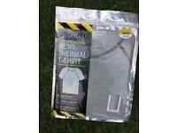 Camping thermal shirt, tshirt style with free bag