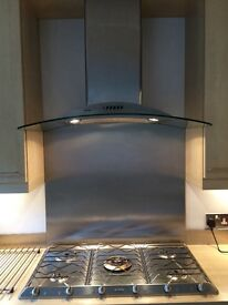 Smeg hob & hood & kitchen doors & accessories