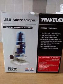 Traveler usb microscope