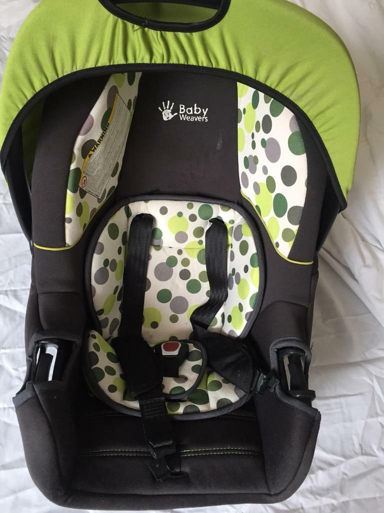 Baby weavers smart car seat 0+ to 13 kg | in Acton, London | Gumtree