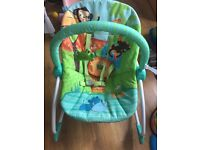 Baby to toddler relax chair rocking/stationary
