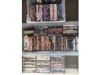 180+ dvds.