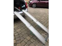 Set of 2 Extendable Mobility Ramps for Wheelchair