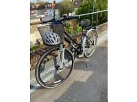 Ammaco ladies bike with basket and accessories