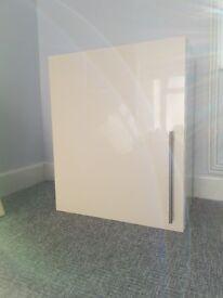 Cream Kitchen Wall Unit, 730x600x300mm