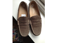 RALPH LAUREN MENS BRAND NEW SOFT MOCCASIN SHOE SIZE 7 LOVELY SHOES