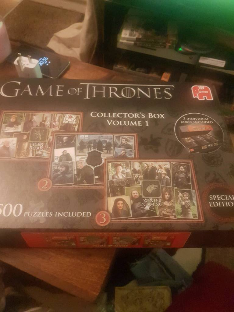 Game of Thrones Collectors Puzzles