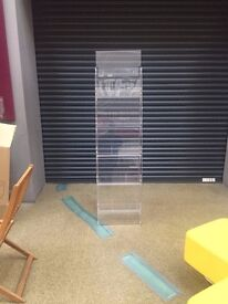 6* Tall Leaflet/Book/Magazine display units £20 each or ono