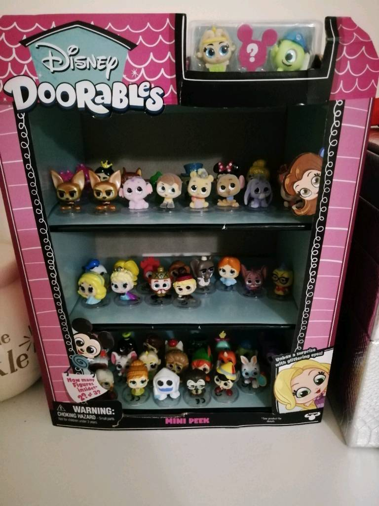 Full Set Of Wave 1 Disney Doorables With Limited Edition