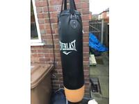 Punch bag & bracket