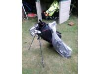 Golf bag new trolley new used golf clubs