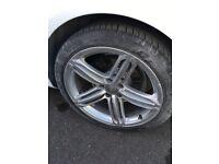 Audi 19inch alloys x4 genuine